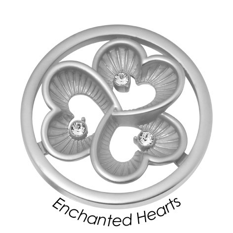 "Quoins disk: Black Label ""Enchanted Hearts"" - qmb-59l-e"