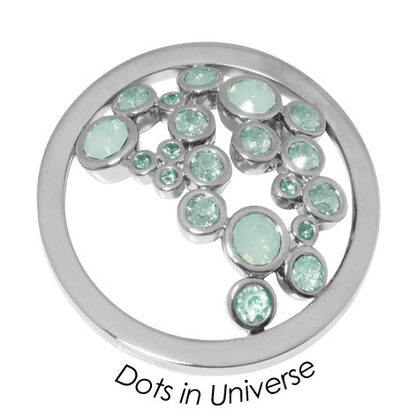 Quoins disk   Dots in Universe - qmok-34l-e-gr