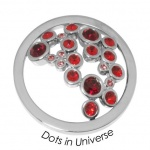 Quoins disk   Dots in Universe - qmok-34l-e-rd