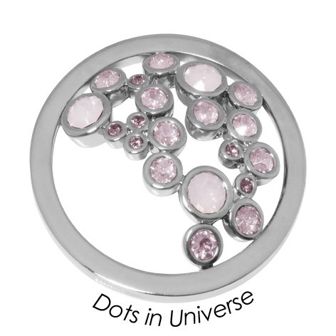 Quoins disk Swarovski Elements  Dots in Universe - qmok-34l-e-rs